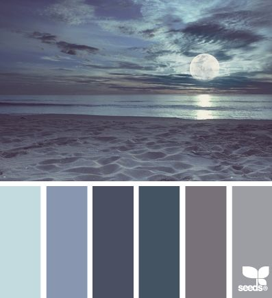 Moonlight Hues - http://design-seeds.com/index.php/home/entry/moonlight-hues- blues and frets for nursery