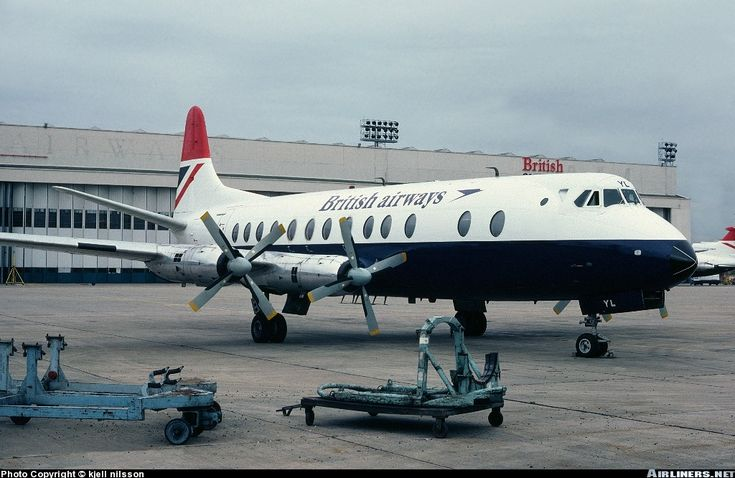 Vickers 806 Viscount aircraft picture #vickers #viscount