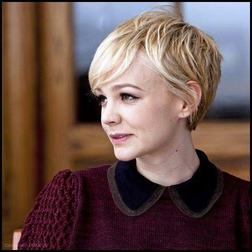 21 Lovely Pixie Haircuts Perfekt für runde Gesichter: Kurze Frisuren   – Neue Frisuren