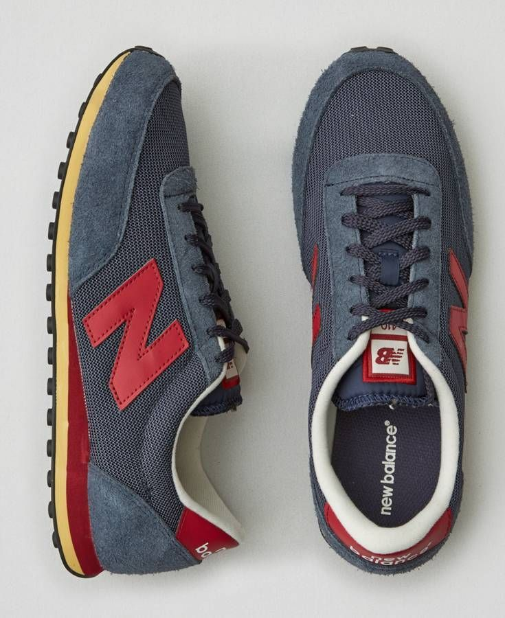 AEO New Balance 410 Sneakers, Men's, Navy Blue
