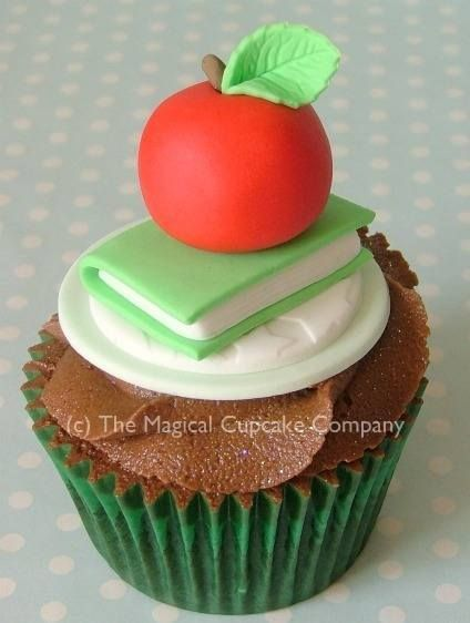 Back to school cupcakes - http://www.themagicalcupcakecompany.co.uk/cupcakes.html#