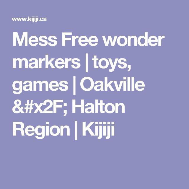 Mess Free wonder markers  | toys, games | Oakville / Halton Region | Kijiji
