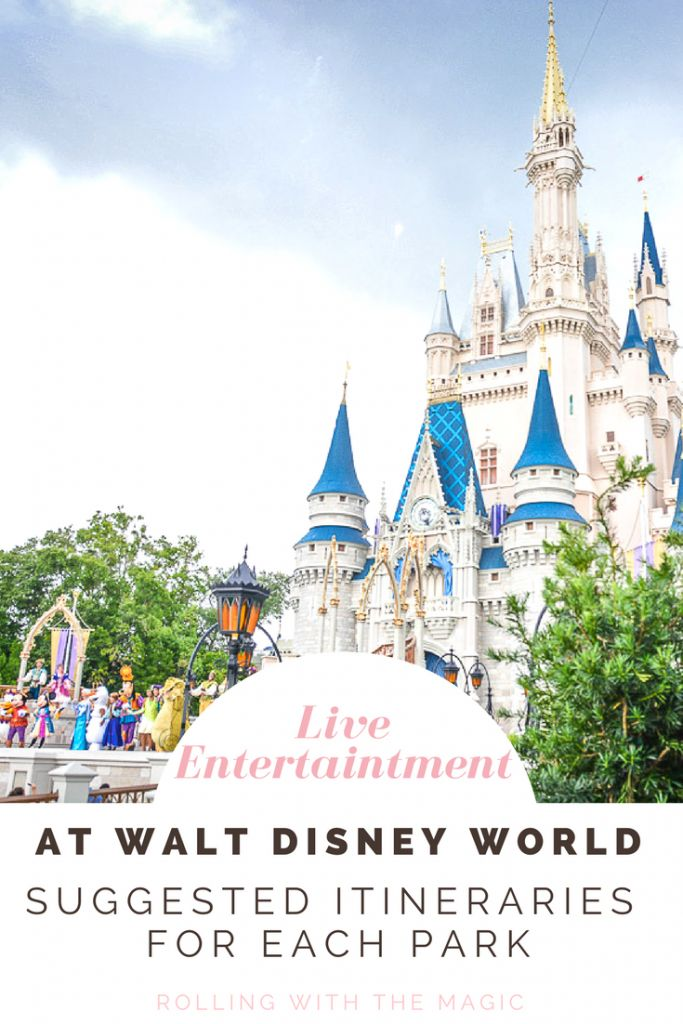 Live Entertainment at Walt Disney World - Rolling with the Magic