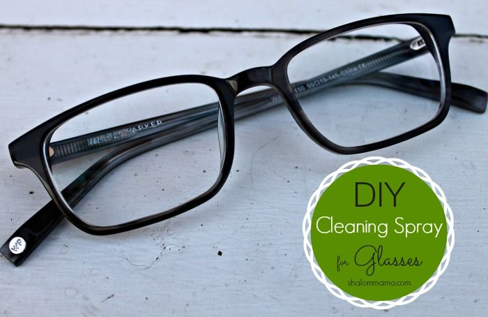 DIY cleaning spray for glasses takes no time at all to make and costs very little money. You'll love this simple, inexpensive recipe.