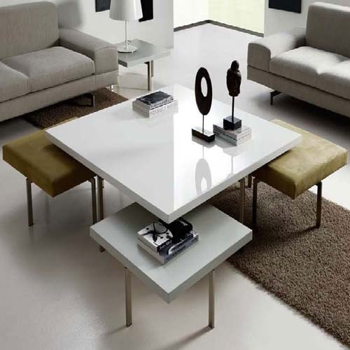 Need these under-the-coffee-table stools for our cozy living room - 30 Best Images About Coffee Table With Stools On Pinterest