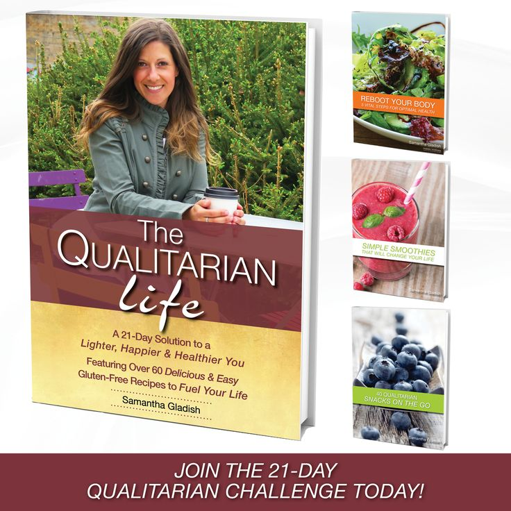 Join the 21-Day Qualitarian Challenge now and start living YOUR Quality life! www.holisticwellness.ca/qualitarianchallenge