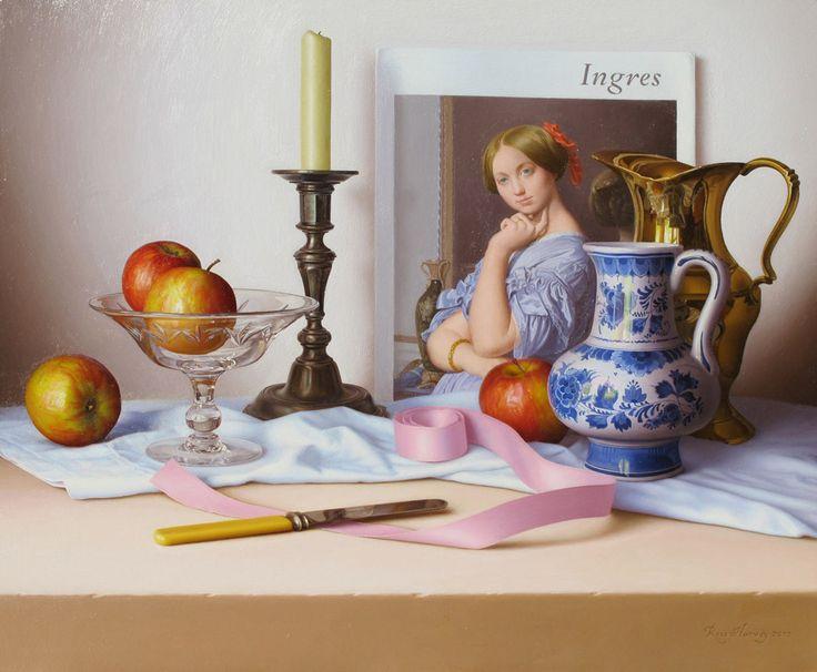 Ross Harvey — Ingres, 2010 (950×783)