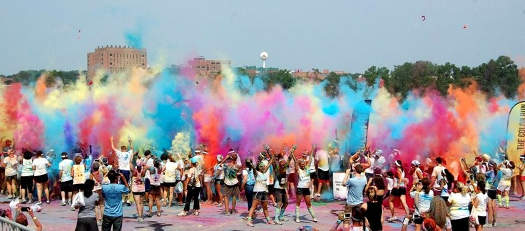 There are two rules for the Color Run: 1. Wear white at the starting line. 2. Finish plastered in color! The fun continues after the Color Runners complete the race with a fun Finish Festival. This party is includes music, dancing and massive color throws. Trust us, this is the best post-5k party on the planet!