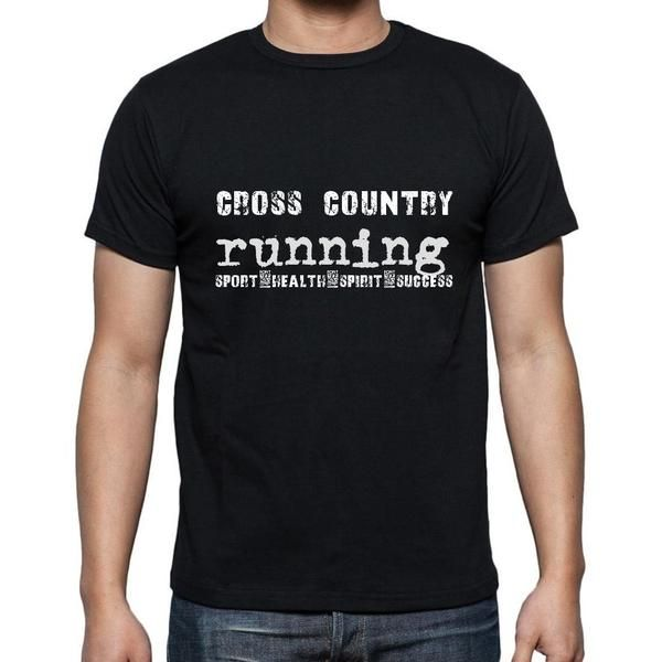 #sport #cross #country #running #men #tshirt #black #exercise Your favourite sport is your passion and your obsession! Buy now --> https://www.teeshirtee.com/collections/sport-t-shirts-black/products/cross-country-running-sport-health-spirit-success-mens-short-sleeve-rounded-neck-t-shirt
