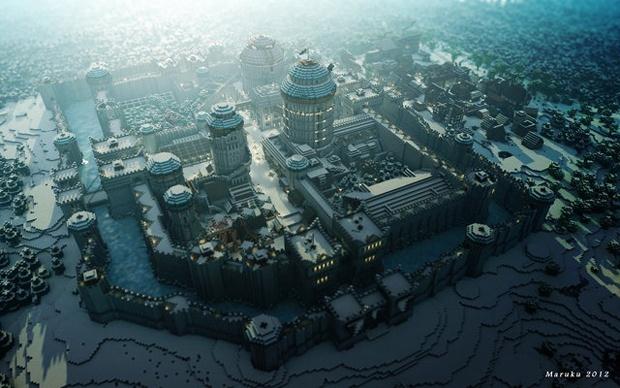 Fãs recriam locais de Game of Thrones em Minecraft
