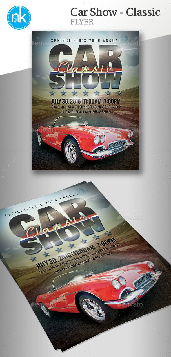 73 Best Car Show Posters Images On Pinterest | Hot Rods, Vintage