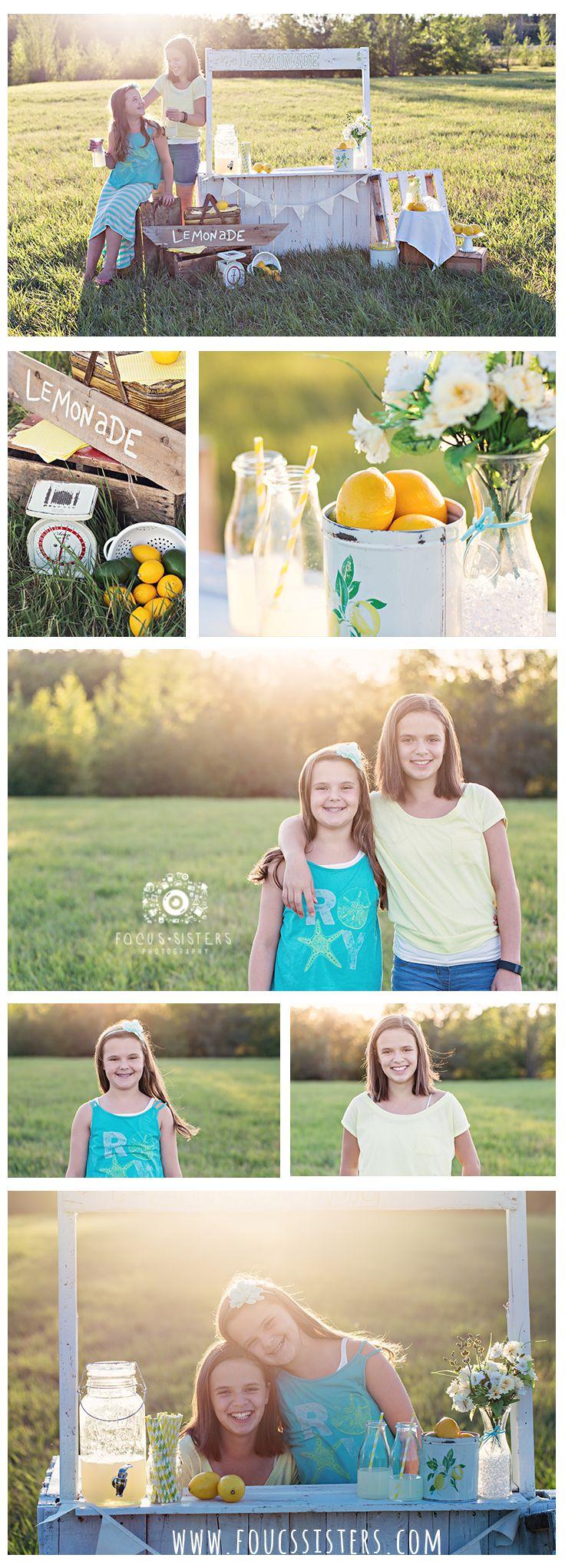 Lemonade Stand Mini Session | Calgary Alberta | Focus Sisters Photography | Child Photography