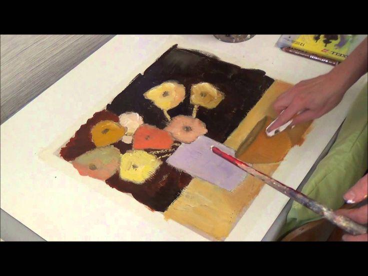 Ber ideen zu acrylmalerei techniken auf pinterest for Acrylmalerei ideen
