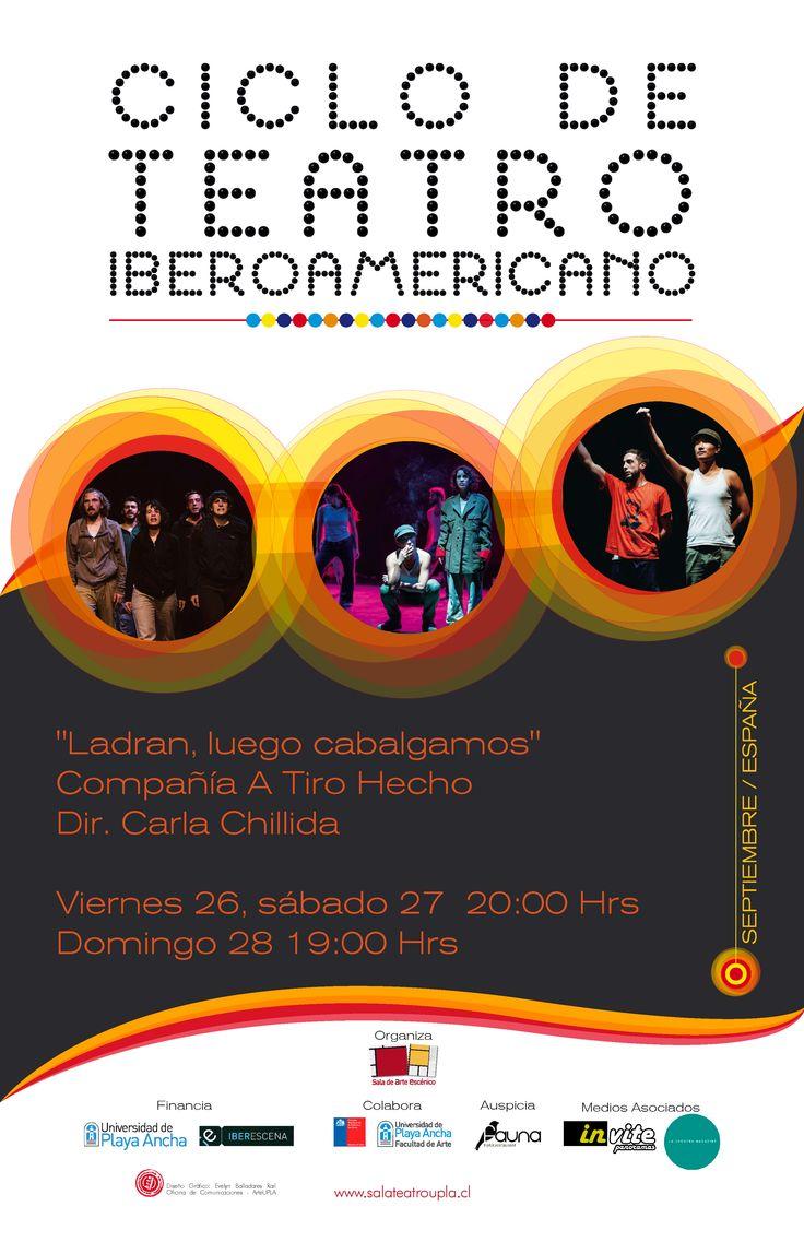 Continúa Ciclo de Teatro Iberoamericano en Sala UPLA #Valparaiso