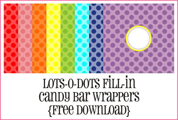 {Student Reward} candy bar wrappers FREE printables +you can add your own text!
