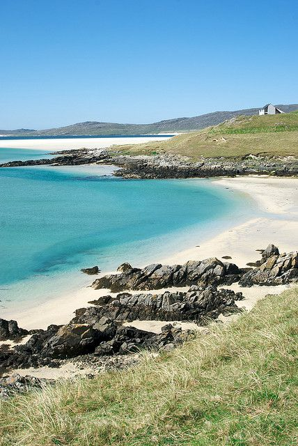 Luskentyre, Isle of Harris, Outer Hebrides, Scotland. Really hope tge isle of arran is like this too!