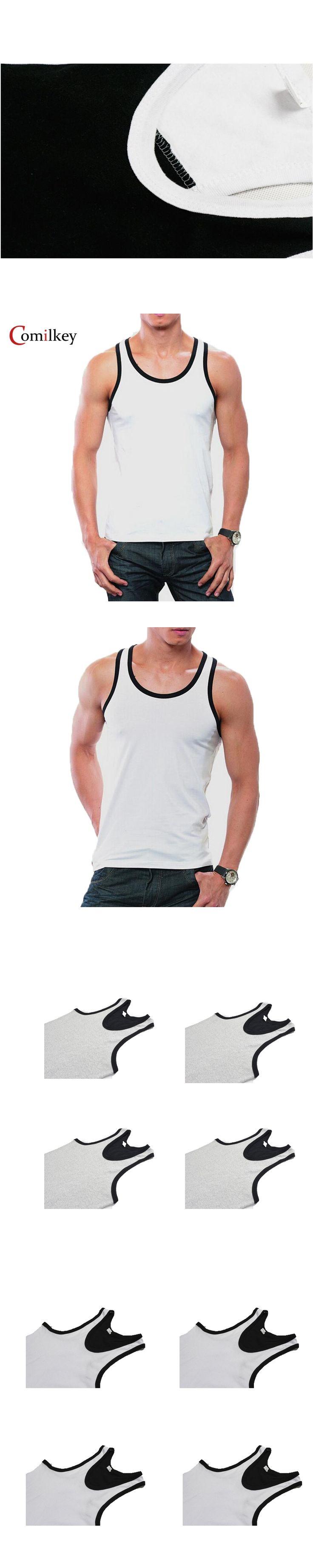 2017 Clothing Casual Gilet Men O-Neck Tank Tops Summer Male Bodybuilding Sleeveless Vest Gymclothing fitness Men T shirt