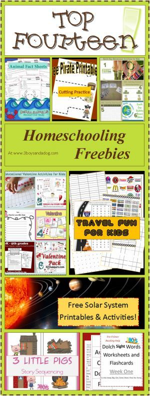 Top 14 Awesome Homeschooling Freebies