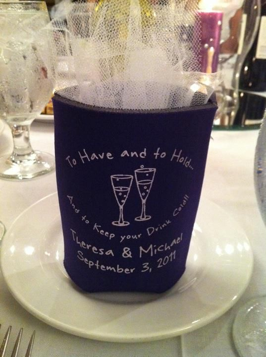 wedding koozies favor   # Pin++ for Pinterest #