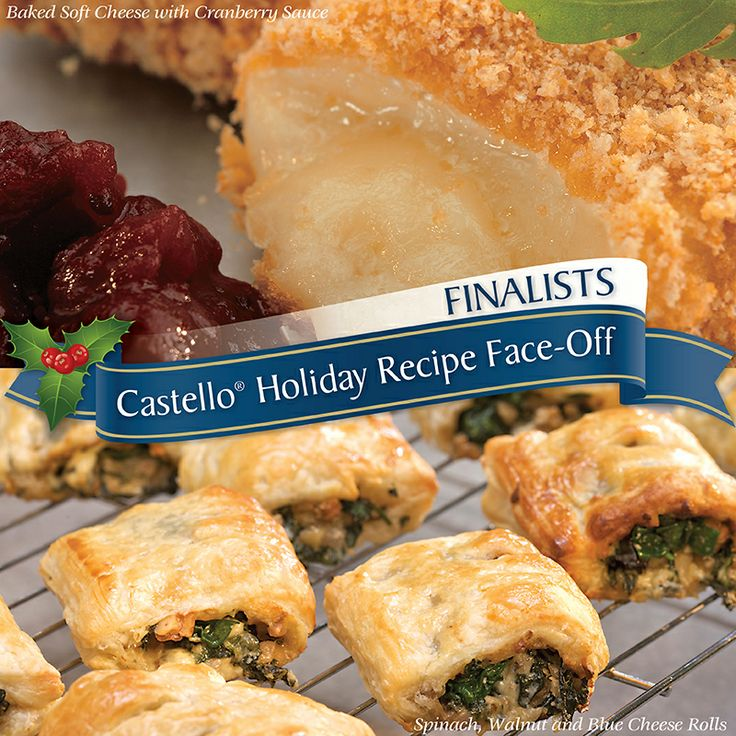 It's the final round of our Holiday Recipe Face-Off! Click on this image to vote for your favourite Castello recipe for your chance to win $25 in Castello grocery vouchers. Re-pin this image for an extra entry!