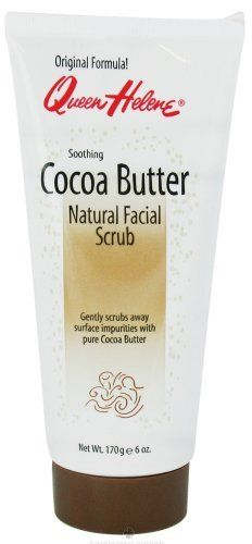Queen Helene Cocoa Butter Facial Scrub 6oz by Queen Helene. $7.12. DOUBLE VALUE PACK! You are buying TWO of Queen Helene Facial Scrub Cocoa Butter 6 oz A soothing natural-fiber facial scrub that deep cleans your skin with the added benefits of pure Cocoa Butter! The gentle exfoliating action draws out impurities, unclogs pores and removes dead, dry c....... Quantity: MULTI VALUE PACK! You are buying Description: FACIAL SCRUB,COCOA BUTTER Unit Size: 6 OZ Brand: QUEEN HE...