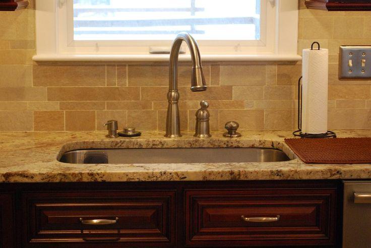 Sienna Bordeaux Granite Kitchen Countertops   Cranston