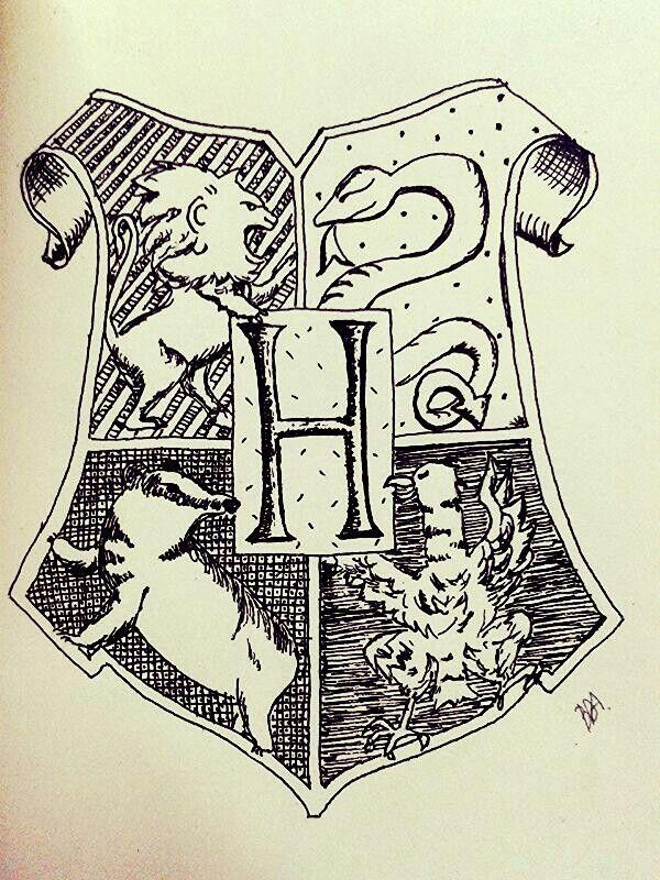 Hogwarts #harrypotter #hogwarts #ink #pen #draw
