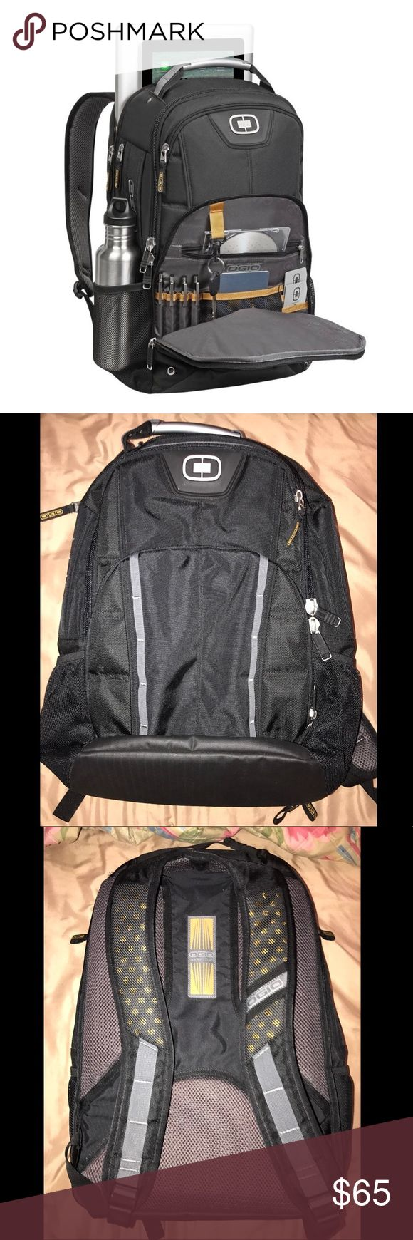 Ogio laptop backpack New without tags never used it, kept in storage holds up to a 17 inch laptop. Many compartments and has very padded straps for comfort. ogio Bags Backpacks