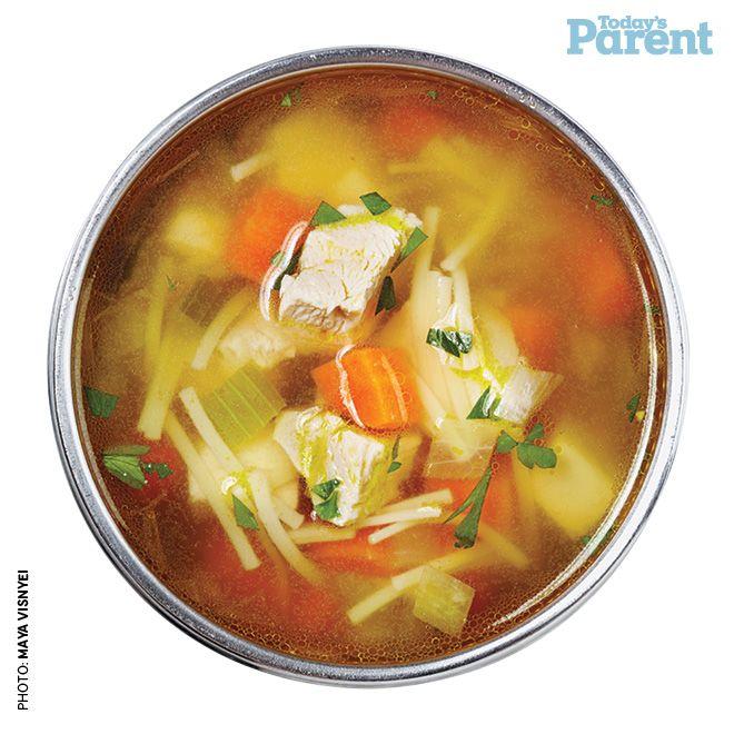 Chicken vegetable nood soup recipe