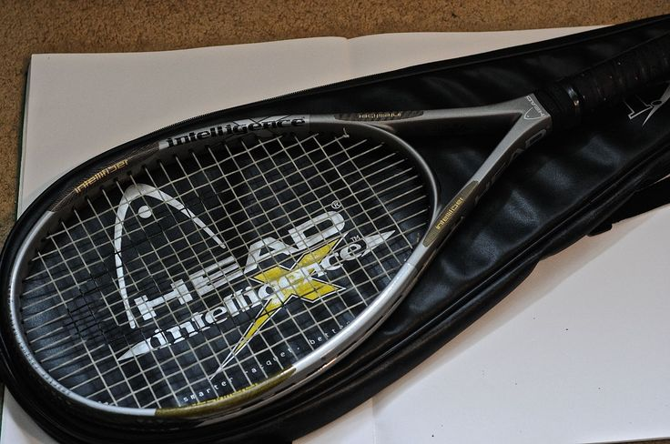 Head #intelligence i.x6 mid plus #adult tennis racquet & #cover,  View more on the LINK: http://www.zeppy.io/product/gb/2/252711162280/