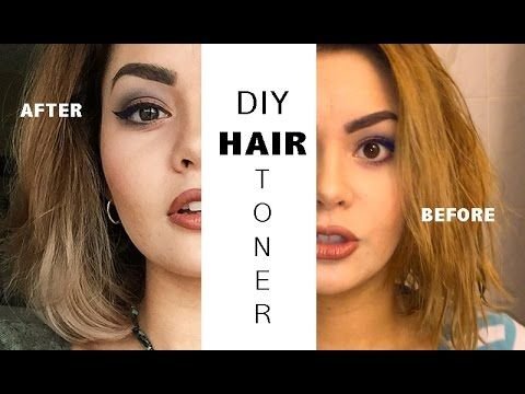 DIY Hair Toner (for Yellow Hair)
