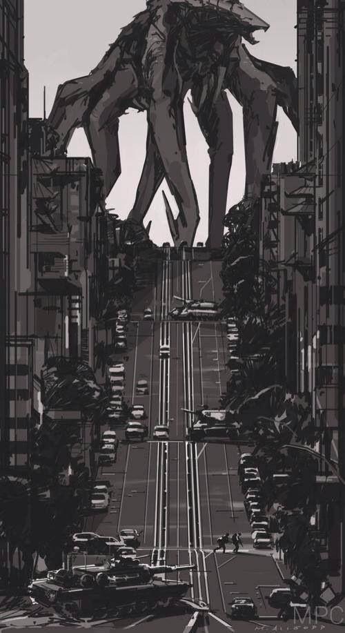 Godzilla (2014) - Female MUTO