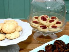 Josephines syltkakor, vaniljdrömmar och chokladkakor | Recept.nu