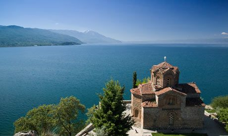 Ohrid, Macedonia.  http://www.worldheritagesite.org/sites/ohrid.html