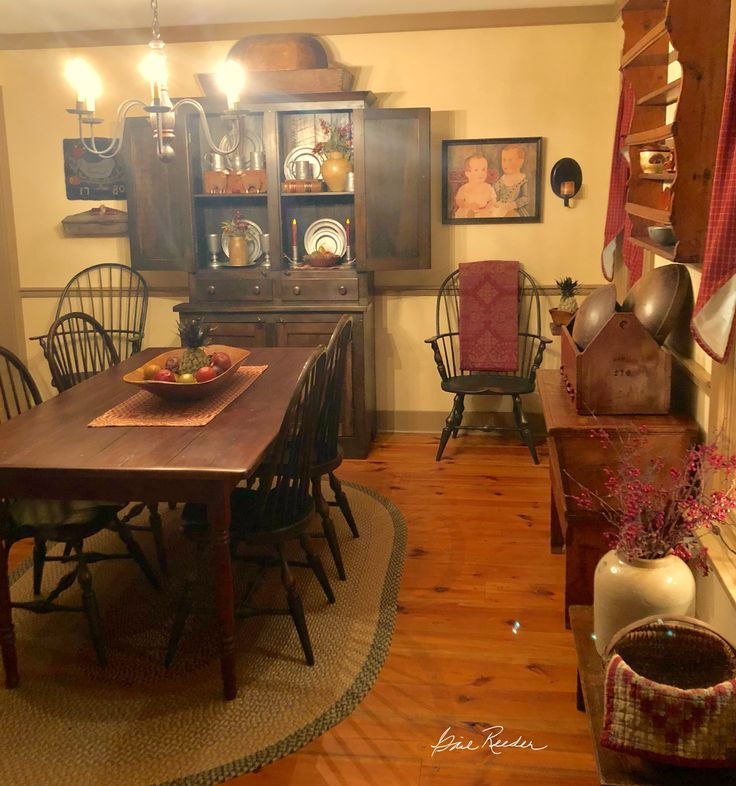 Colonial Dining Room: 649 Best Colonial Dining Rooms Images On Pinterest
