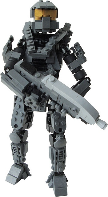 26 best images about halo on pinterest halo lego - Lego spartan halo ...