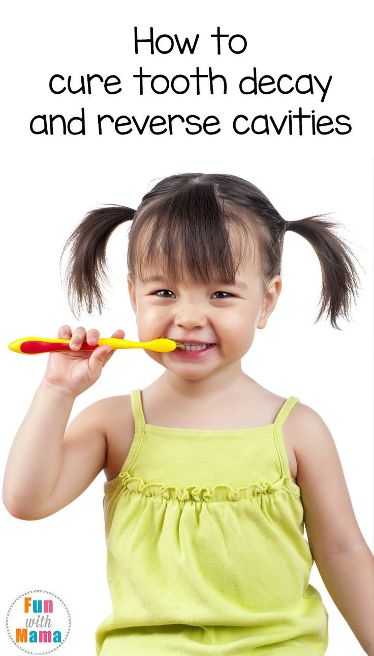 Cure, heal and reverse tooth decay in toddlers preschoolers and children with these remedies via @funwithmama