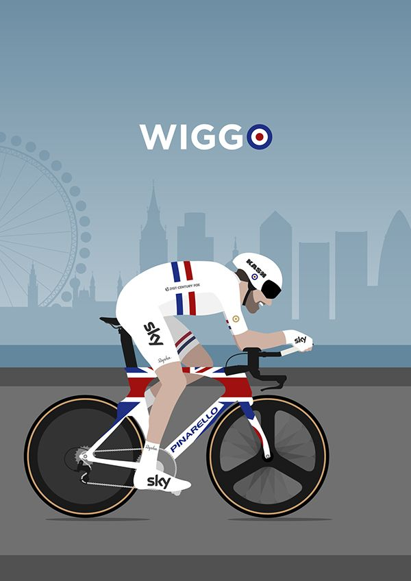 Sir Bradley Wiggins Poster 1 on Behance
