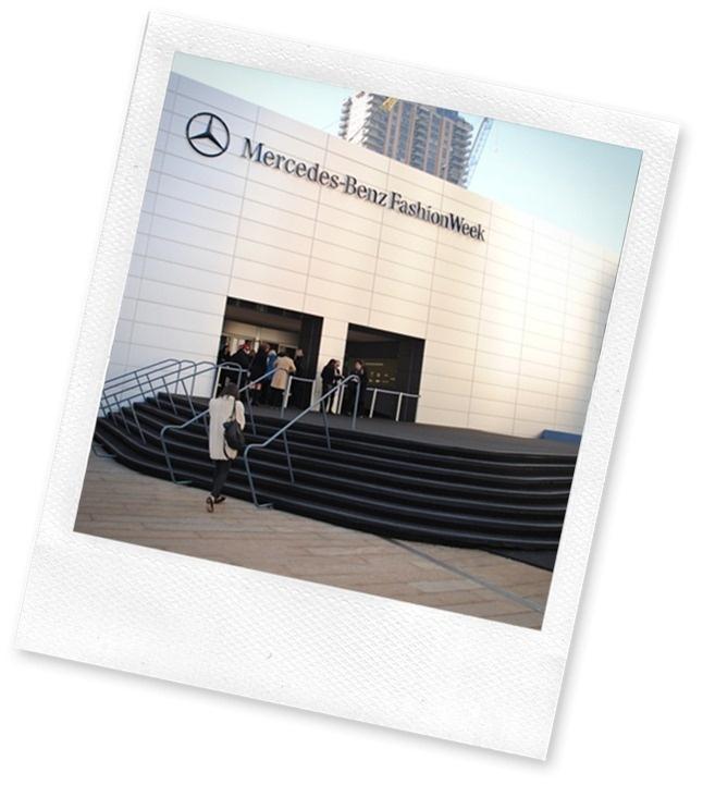 Outside Mercedes Benz Fashion Week: Benz Fashion, New York Fashion Week, New York Cities, New York City