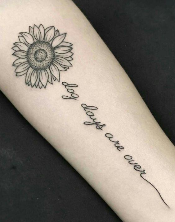 Mini Tatuajes De Girasoles Tatuajes Tatuajes Girasoles
