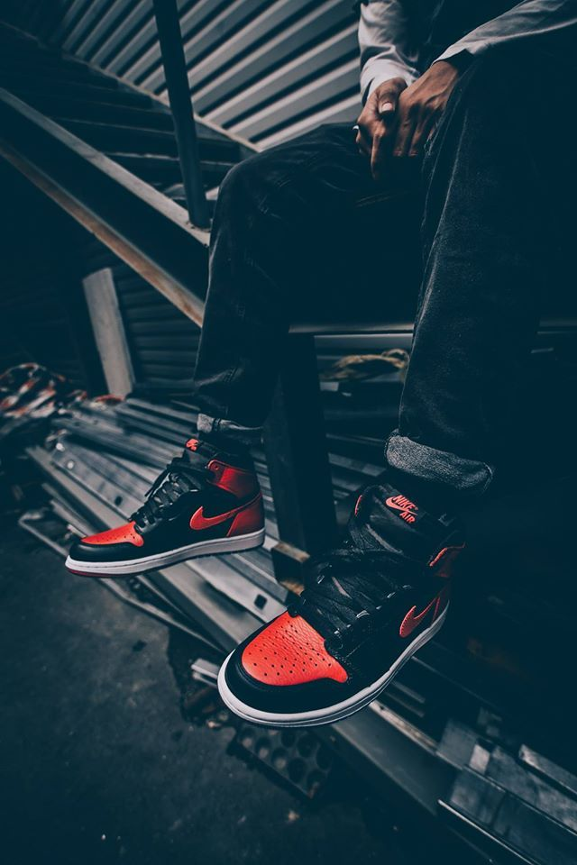 Nike Air Jordan I Banned (by altangrelx)