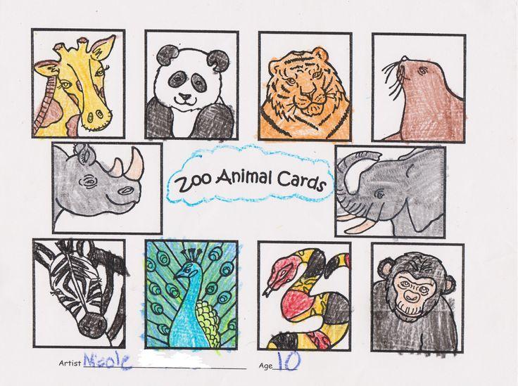 Mejores 90 imágenes de Zoo Coloring Contest 2017 en Pinterest ...