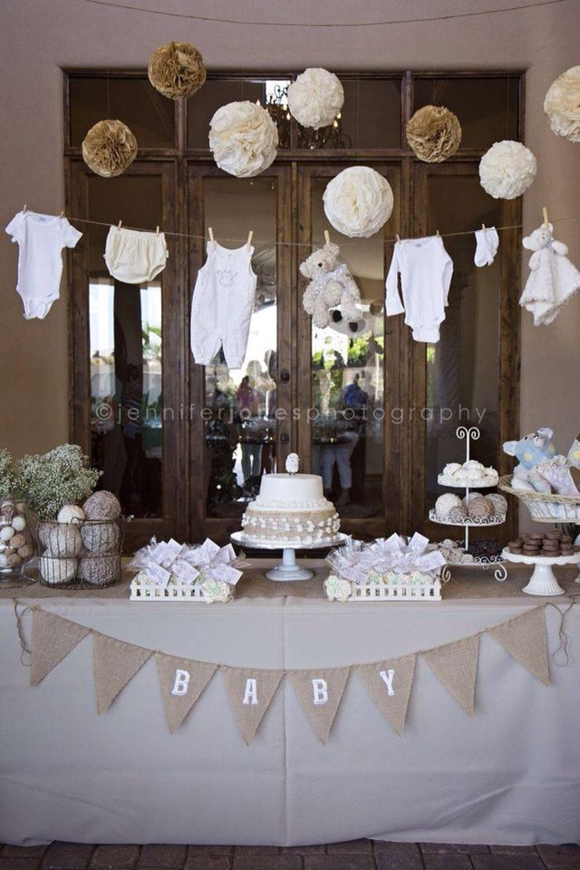 Candy bar, baby shower