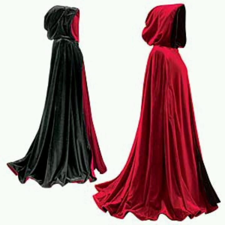 reversible hooded cape dickens kleding pinterest. Black Bedroom Furniture Sets. Home Design Ideas