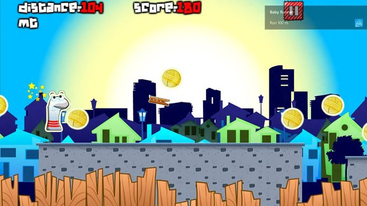 Sock Runner - Windows 8 Game