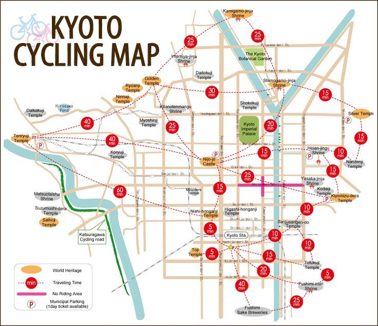 Olympics 2020 Japan Pinwire Kyoto Cycling Map Japan 3 In 2018