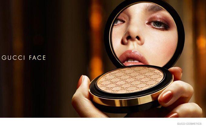 Шарлотта Казираги в рекламе косметики Gucci