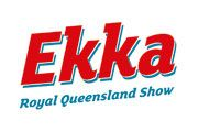 The EKKA 2014 has officially started YAY :)
