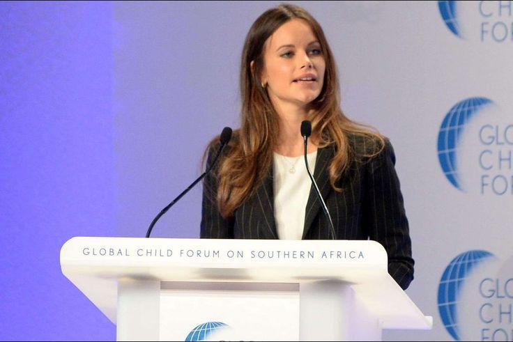 La princesse Sofia de Suède à Pretoria, le 8 septembre 2015