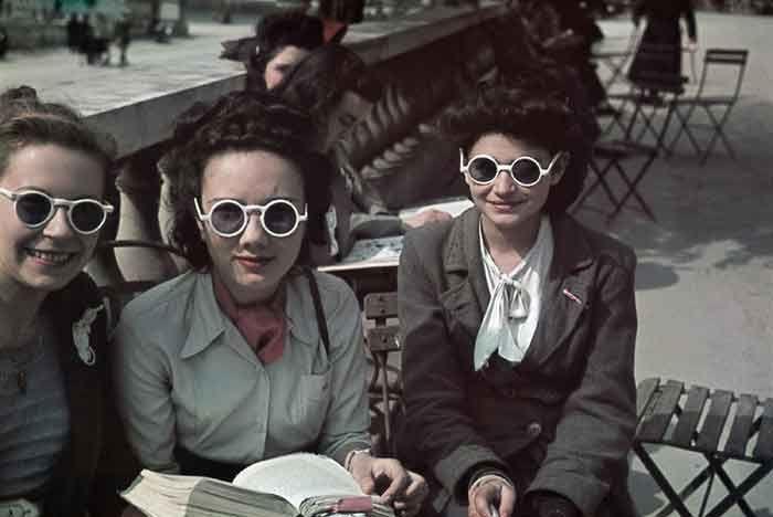 i parigini durante l'occupazione